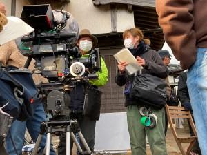 カメラマンの柳島さんと